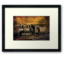V & T Railroad  Framed Print