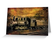 V & T Railroad  Greeting Card