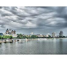River Rhine Skyline Photographic Print