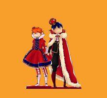 Chibi King Kageyama and Queen Hinata (Haikyuu) Unisex T-Shirt