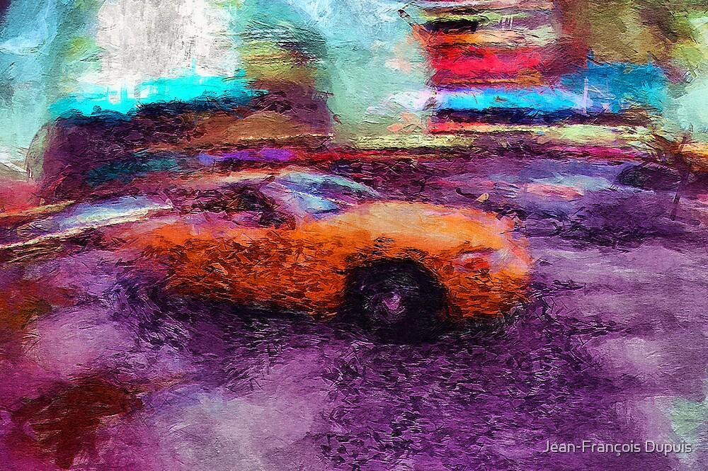 New York taxi by Jean-François Dupuis