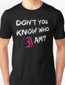 Every Time I Die - Don't You Know Who I Am? (White) T-Shirt
