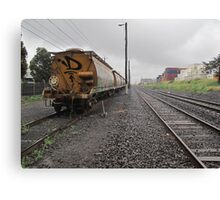 trackside Canvas Print
