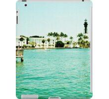 Hillsboro Inlet  iPad Case/Skin