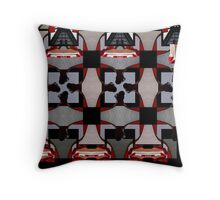 Dollhouse Levitation Throw Pillow