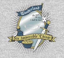 Six Impossible Things by robotrobotROBOT