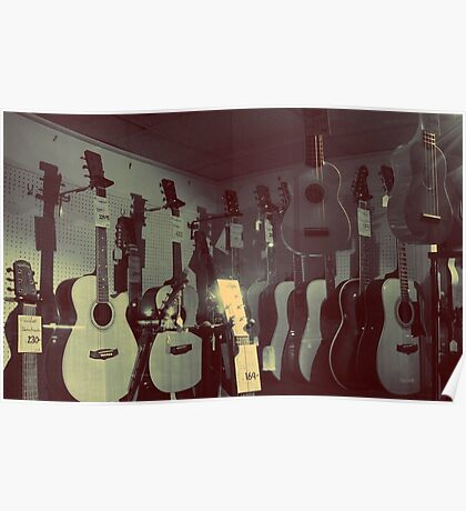 Acoustic Window Shopping #1 Poster