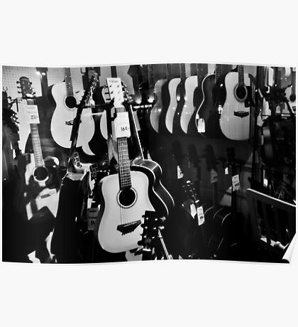 Acoustic Window Shopping #2 Poster