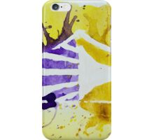 Carolina Crown DCI Watercolor Logo iPhone Case/Skin
