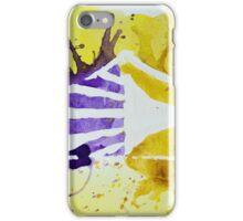 Carolina Crown DCI Watercolor Logo iPhone Case/Skin