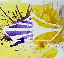 Carolina Crown DCI Watercolor Logo by Felizaestrada