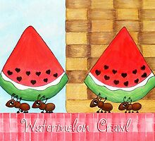 Watermelon Crawl by Jennifer Gibson