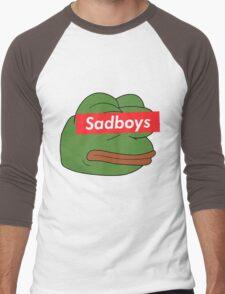 rare pepe sadboy Men's Baseball ¾ T-Shirt