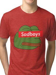 rare pepe sadboy Tri-blend T-Shirt