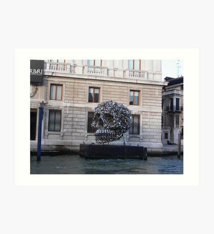 Lattine, barattoli....VENICE - ITALY - 2500 VISUALIZZAZ.MAGGIO 2013  --- VETRINA RB EXPLORA 4 SETTEMBRE 2012 --- Art Print