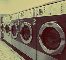 Three Black Washing Machines by Matthew Floyd