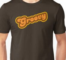 Groovy - Retro 70s - Logo Unisex T-Shirt