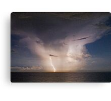 Atlantic storm Canvas Print