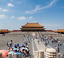 forbidden City, Beijing by johanntanzer