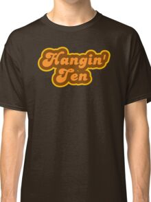 Hangin' Ten - Retro 70s - Logo Classic T-Shirt