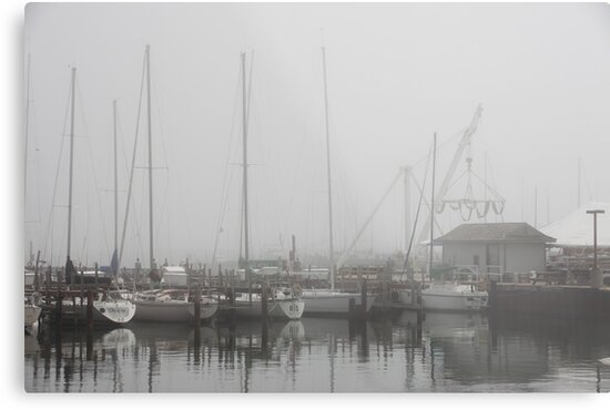 Misty Harbor by Thomas Murphy
