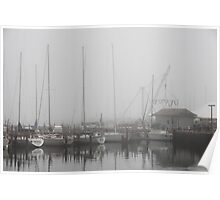 Misty Harbor Poster