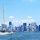 New York City Harbour by Alberto  DeJesus