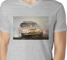 GLDCLS Tread Cemetery Burnout Mens V-Neck T-Shirt