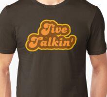 Jive Talkin' - Retro 70s - Logo Unisex T-Shirt