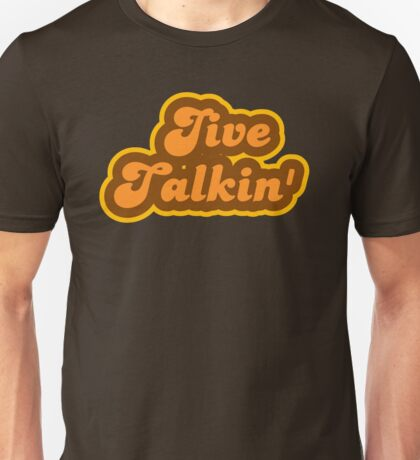 Jive Talkin' - Retro 70s - Logo Unisex T-Shirt