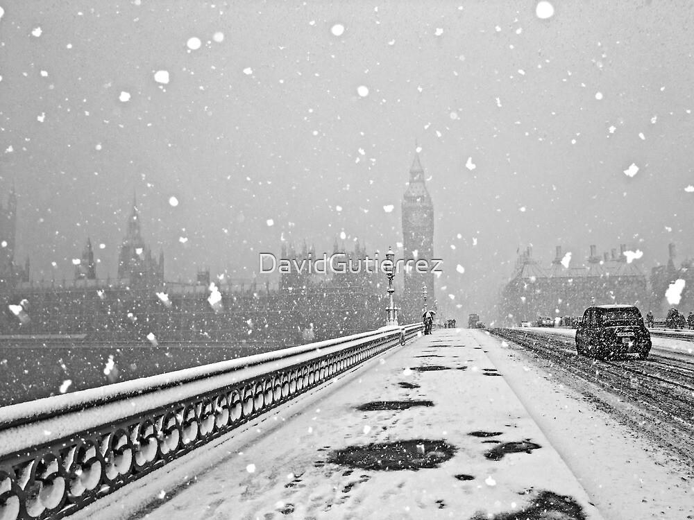 London Snow Storm by DavidGutierrez