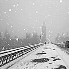 London in the Snow by DavidGutierrez