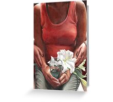 Man In The Glass Thirteen Grapevine Greeting Card