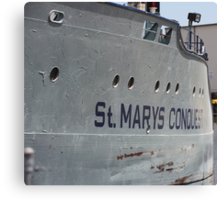 St. Mary's Conquest Canvas Print