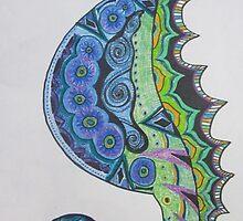 Seahorse Sunshine by GreenFireSpirit