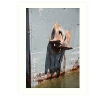 St. MARYS CONQUEST ANCHOR Art Print