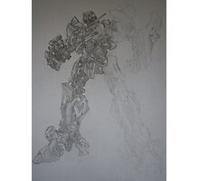 Bumblebee out of transformers - humanoid form Photographic Print