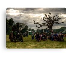 Powderham vintage rally Canvas Print