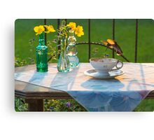 Time For Tea 3 Canvas Print
