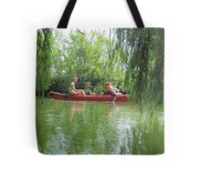 Canoeing on the Oconomowoc River Tote Bag