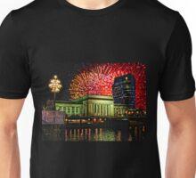 4th of July, 30th Street Station, Philadelphia. Unisex T-Shirt