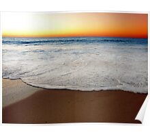 Beach At Sunset/Dusk - South of Western Australia Poster