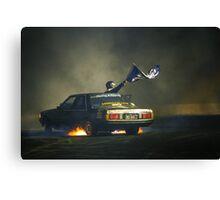 383AXE Burnout at Asponats Canvas Print