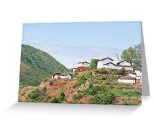 China village Greeting Card