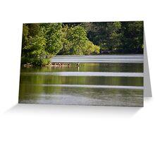 Green Lane Reservoir - Red Hill - Pennsylvania USA Greeting Card