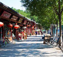 Beijing Street by johanntanzer