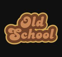Old School - Retro 70s - Logo Baby Tee
