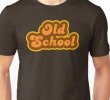 Old School - Retro 70s - Logo Unisex T-Shirt