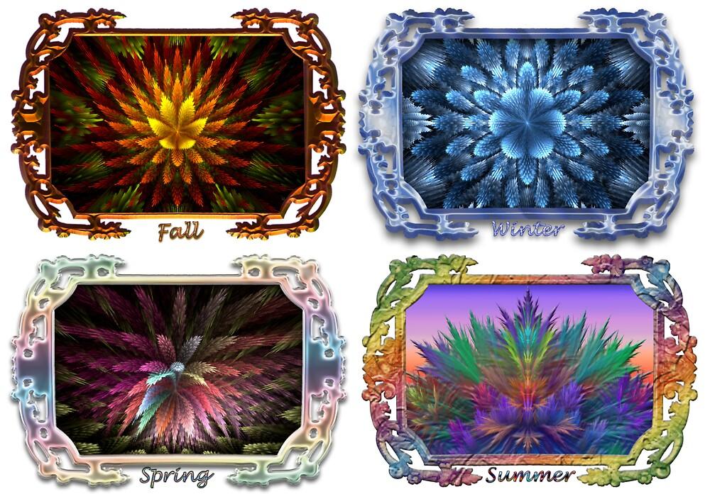 Seasonal Botanicals 2 by wolfepaw