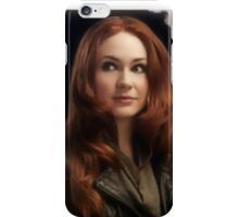 The Girl Who Stopped Waiting iPhone Case/Skin